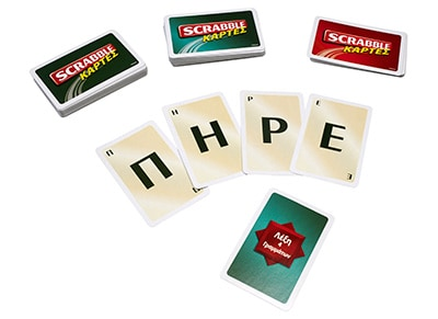 Επιτραπέζιο Scrabble Κάρτες