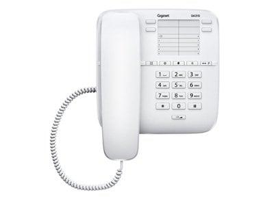 Gigaset DA310 Ενσύρματο Τηλέφωνο Λευκό