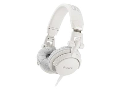 Ακουστικά Κεφαλής Sony Overhead MDRV55W Λευκό