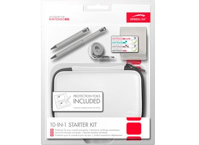 SpeedLink 10-IN-1 Starter Kit - Nintendo 3DS-DSi Λευκό