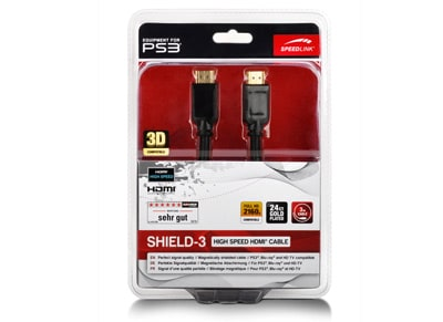 Speedlink Shield-3 - Καλώδιο HDMI - 2m