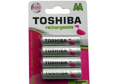 Μπαταρία Επαναφορτιζόμενη Toshiba AA 2400mAh BP4 0261495