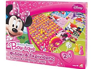 Επιτραπέζιο 2σε1 Φιδάκι & Γκρινιάρης Minnie