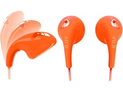 Ακουστικά iLuv Πορτοκαλί Bubblegum IEP205