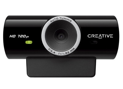 Web Camera Creative Live! Cam Sync HD - Μαύρο περιφερειακά   web cameras
