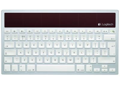 Logitech Wireless Solar K760 Mac - Ασύρματο - Ασημί