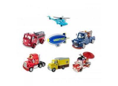 Disney Cars Deluxe Οχήματα (7 Σχέδια)
