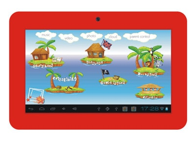 "Connect Me TS-713K - Παιδικό Tablet 7"" 4GB Κόκκινο"