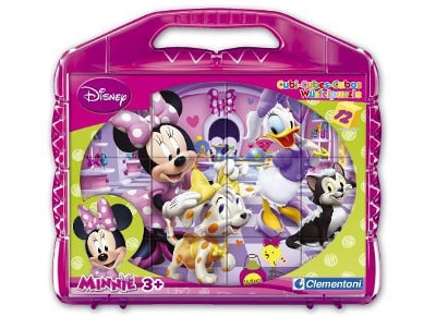 Παζλ Disney Minnie Club House - Super Color Disney Clementoni - 12 Κύβοι