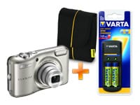 Nikon Coolpix L28 - Cool Kit - Ασημί