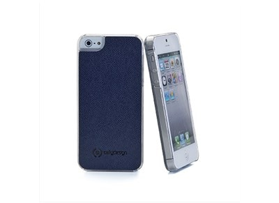 Θήκη iPhone 5/5s - Celly PU Caffe Plus CRISCIP501 Μπλε