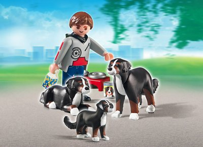 Playmobil 5214 σκύλος ορεινός βέρνης με