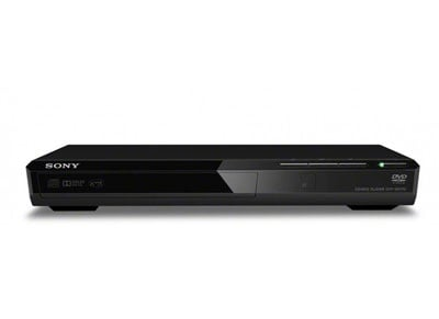 Sony DVP SR170 - DVD Player - Μαύρο