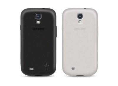 Θήκες Samsung Galaxy S4 - Belkin Grip Sheer Matte 2 Pack F8M592BTC00-2 Λευκό/Μαύ τηλεφωνία   tablets   αξεσουάρ κινητών   θήκες