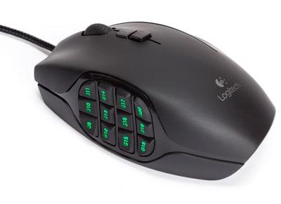 Logitech G600 MMO - Gaming Mouse - Μαύρο
