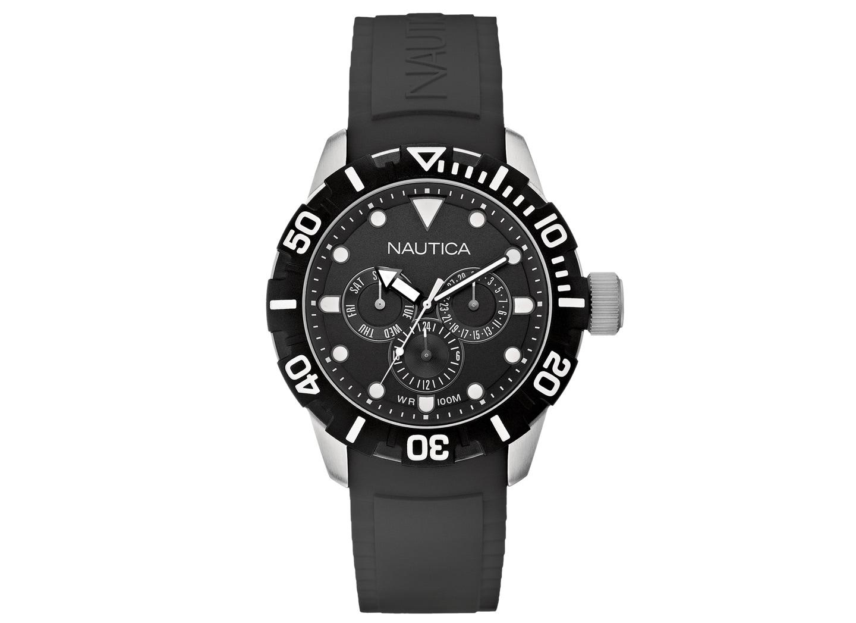 Ανδρικό Ρολόι Nautica NSR 101 Multi Μαύρο (A13643)  bb41957e573