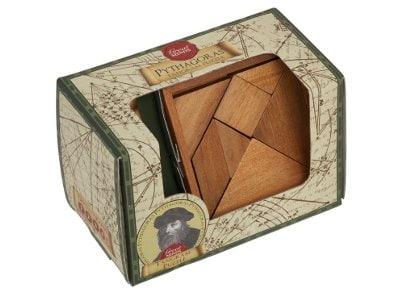 Pythagoras' Tangram Puzzle
