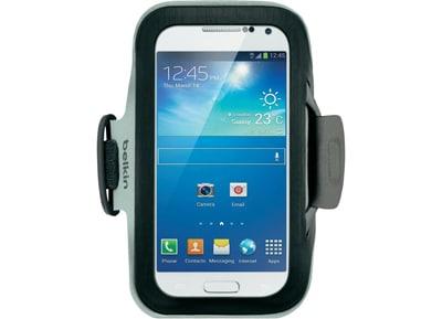 Θήκη-περιβραχιόνιο Galaxy S4 Mini - Belkin Slim-Fit Armband F8M637BTC00 Μαύρο