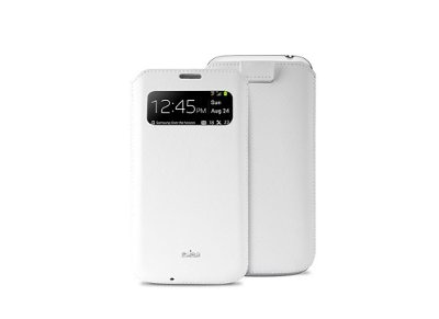 Θήκη Samsung Galaxy S4 Mini - Puro View Slim Essential Case Λευκό τηλεφωνία   tablets   αξεσουάρ κινητών   θήκες