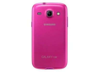 Θήκη Samsung Galaxy Core - Samsung Protective Cover EF-PI826BPEGWW Ροζ τηλεφωνία   tablets   αξεσουάρ κινητών   θήκες