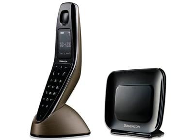 Sagem D790 Ασύρματο Τηλέφωνο Μπρονζέ