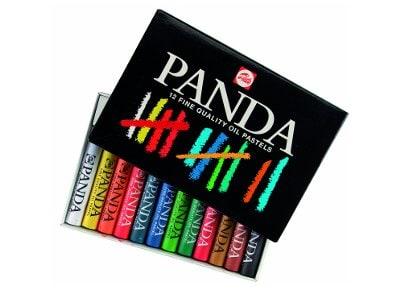 Κηρομπογιές Talens Panda - 12 χρώματα