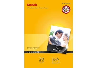Χαρτί Φωτογραφικό Kodak 5740-090 Photo Satin A4 (280g) - 20 φύλλα