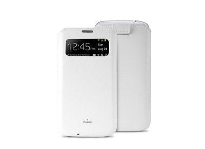 Θήκη Samsung Galaxy S4 - Puro View Slim Essential Case Λευκό τηλεφωνία   tablets   αξεσουάρ κινητών   θήκες