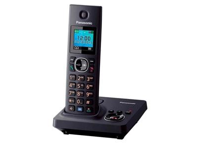 Panasonic KX-TG7861GRB Ασύρματο Τηλέφωνο Μαύρο