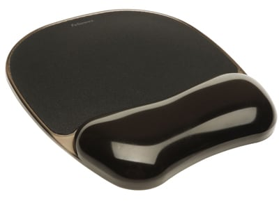 Mousepad Fellowes Crystal Black (9112101) Μαύρο