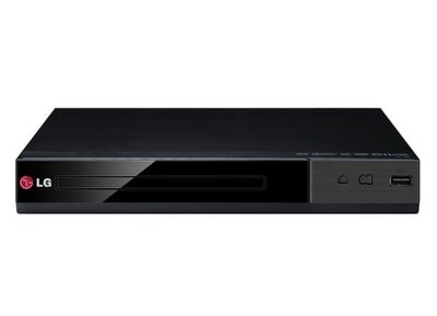 LG DP132 - DVD player - Μαύρο