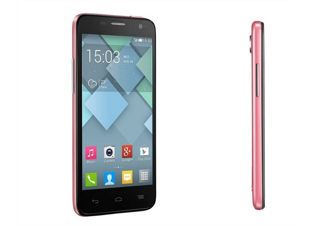 how to open alcatel one touch idol