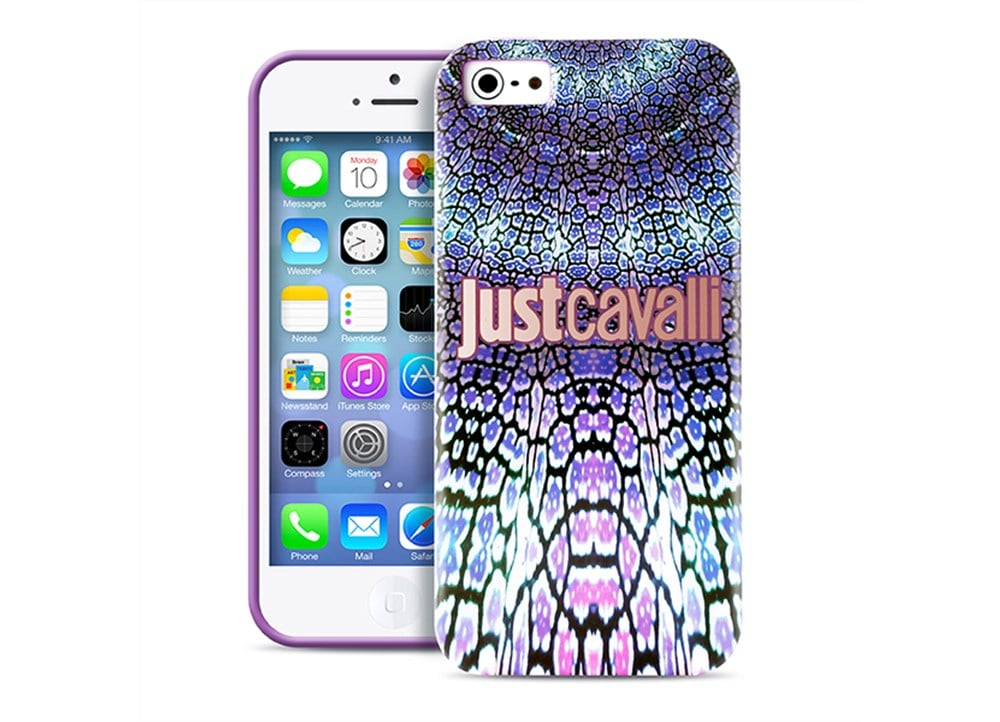 Iphone 5 5s puro just cavalli wild mandala for Iphone 5 in the wild bangkok