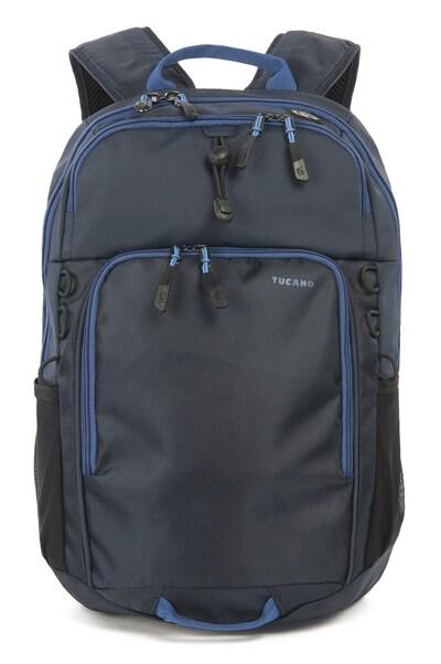 """Τσάντα Laptop Πλάτης 15"""" Tucano Tech-Yo - Μπλε"""