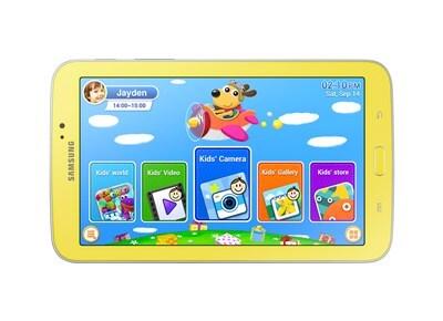 """Samsung Galaxy Tab 3 Τ205 - Παιδικό Tablet 7"""" 8GB Κίτρινο"""