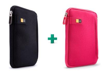 "Case Logic TNEO-108K & TNEO-108PI - Θήκες Tablet 7"" - Μαύρο & Ροζ"