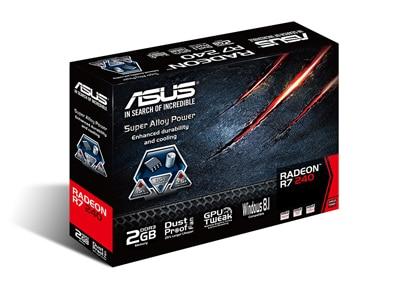 Asus Radeon R7 240 2GB - R7240-2GD3-L - Κάρτα γραφικών