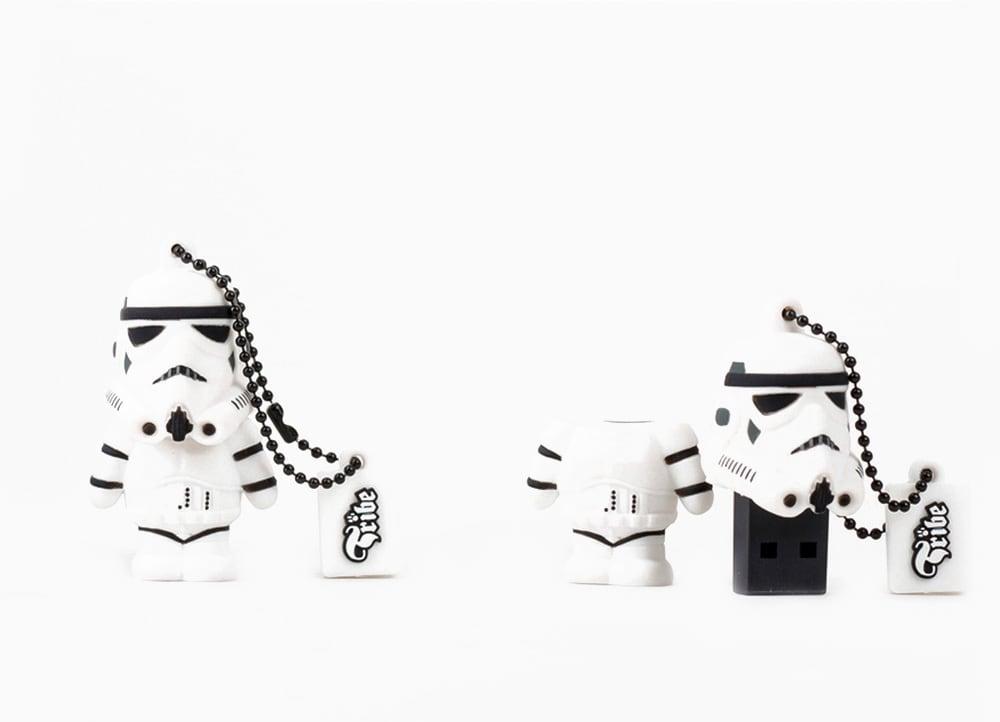 Usb stick star wars tribe storm trooper 8gb 2.0 λευκό