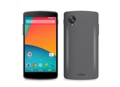 Θήκη LG Nexus 5 - Puro Silicon Cover LGNEXUS5SBLK Μαύρο