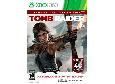 Tomb Raider - Game of the Year Edition - Xbox 360 Game gaming   παιχνίδια ανά κονσόλα   xbox 360