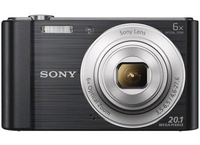Compact Sony Cyber-shot DSC W810 - Μαύρο