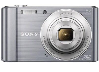 Compact Sony Cyber-shot DSC W810 - Ασημί
