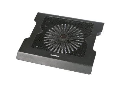 """Βάση Laptop Cooler 17.3"""" Omega Snoflake ΟΜ41249 Μαύρο"""