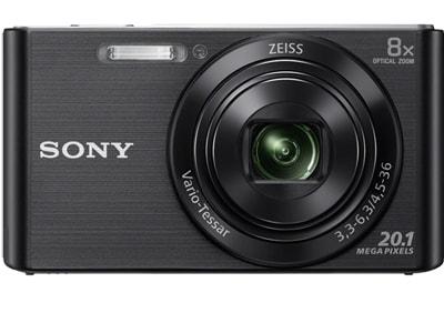 Compact Sony Cyber-shot DSC W830 - Μαύρο