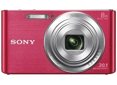 Compact Sony Cyber-shot DSC W830 - Ροζ