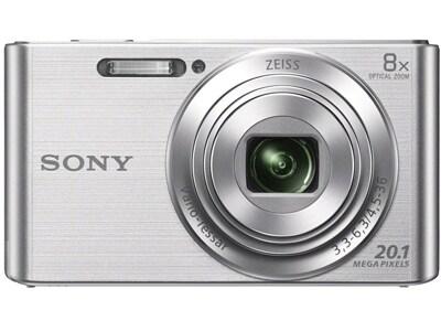 Compact Sony Cyber-shot DSC W830 - Ασημί