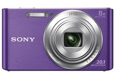 Compact Sony Cyber-shot DSC-W830 - Μωβ