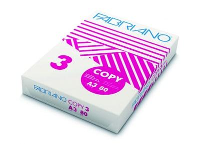 Χαρτί εκτύπωσης A3  500 φύλλα Fabriano Copy A3 (80g)