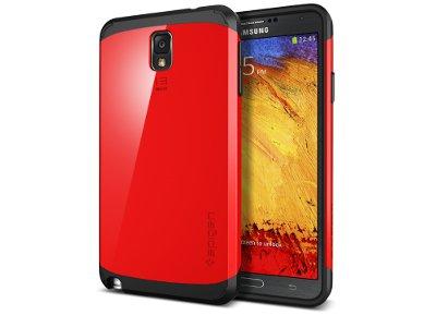 Θήκη Samsung Galaxy Note 3 - SGP Slim Armor Κόκκινο τηλεφωνία   tablets   αξεσουάρ κινητών   θήκες