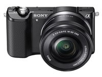 Mirrorless Camera Sony α5000 Kit 16-50mm - Μαύρο